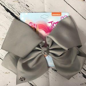 JoJo Siwa Nickelodeon 8inch Gray bow